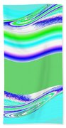 Abstract Fusion 146 Beach Towel