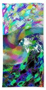 Abstract Fusion 15 Beach Towel