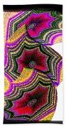 Abstract Fusion 154 Beach Towel