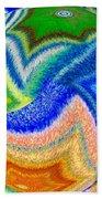 Abstract Fusion 155 Beach Towel