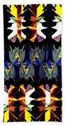 Abstract Fusion 156  Beach Towel
