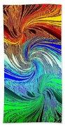 Abstract Fusion 159 Beach Towel