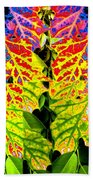 Abstract Fusion 16 Beach Towel