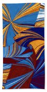 Abstract Fusion 34 Beach Towel