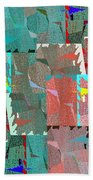 Abstract Fusion 39 Beach Towel