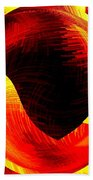 Abstract Fusion 40 Beach Towel