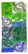 Abstract Fusion 42 Beach Towel