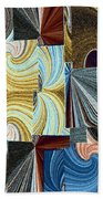 Abstract Fusion 45 Beach Towel