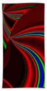 Abstract Fusion 49 Beach Towel