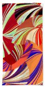 Abstract Fusion 56 Beach Towel