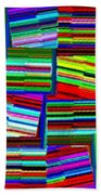 Abstract Fusion 77 Beach Towel