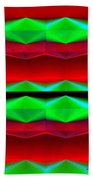 Abstract Fusion 83 Beach Towel