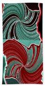 Abstract Fusion 88 Beach Towel
