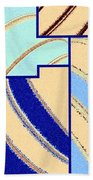 Abstract Fusion 94 Beach Towel