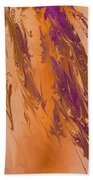 Abstract In July Beach Towel