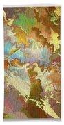 Abstract Puzzle Beach Towel by Deborah Benoit