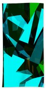 Abstract Sine L 7 Beach Towel