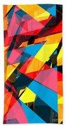 Abstract Sine P 13 Beach Towel