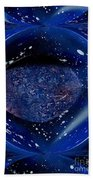 Abstract Space Beach Towel