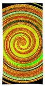 Abstract Spiral Beach Towel