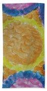 Abstract Sun Beach Towel