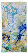 Abstract Under Water Beach Towel