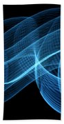 Abstract Wave Beach Towel