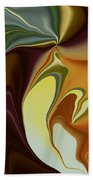 Abstract With Mood Beach Towel
