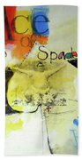 Ace Of Spades 25-52 Beach Towel by Cliff Spohn