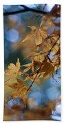 Acer Autumn Beach Towel