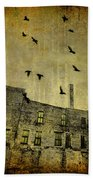 Industrial Acid Urban Sky Beach Towel