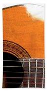 Acoustic Guitar 15 Beach Towel