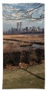 Across The River Beach Towel