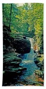 Adams Falls Beach Towel