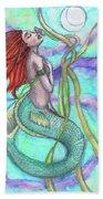 Adira The Mermaid Beach Towel