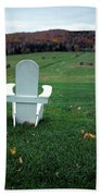 Adirondack Chairs Beach Towel
