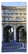 Admiralty Arch In Westminster London Beach Towel