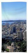 Aerial View - Sydney Harbour Beach Towel