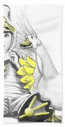 Aflac Baby Duck Beach Towel