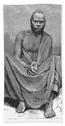 Africa: Yao Chief, 1889 Beach Towel