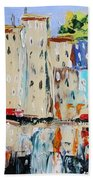 After Hours-reflection Beach Towel