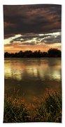 Afterglow Beach Towel by Saija  Lehtonen