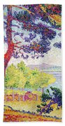 Afternoon At Pardigon Beach Towel