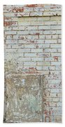 Aged Brick Wall With Character Beach Towel