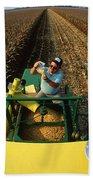 Agricultural Engineer Beach Towel