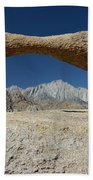 Alabama Hills Arch Beach Towel