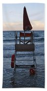 Alassio Sunset Facing East Beach Towel