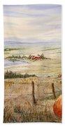 Alberta Foothills Beach Towel