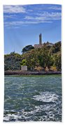 Alcatraz Island San Francisco Beach Towel
