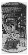 Alchemists Laboratory, 1595 Beach Towel by Science Source